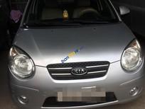 Bán ô tô Kia Morning năm 2009, màu bạc xe gia đình