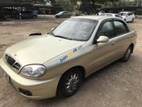 Bán Daewoo Lanos 1.5 MT sản xuất năm 2001, màu vàng cát, số sàn