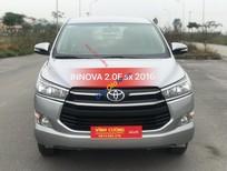 Bán Toyota Innova 2.0E sản xuất năm 2016, màu bạc, giá tốt