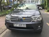 Bán Toyota Fortuner V sản xuất năm 2010, màu xám, chính chủ