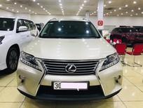 Bán Lexus RX350 màu vàng, sản xuất và đăng ký 2014, tư nhân, chính chủ, biển Hà Nội, thuế sang tên 2%. LH 0906223838