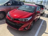 Bán ô tô Toyota Yaris 1.5 G sản xuất 2019, màu đỏ, nhập khẩu nguyên chiếc giá cạnh tranh