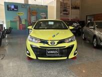 Bán xe Toyota Yaris 1.5G CVT năm sản xuất 2019, màu vàng, giá tốt