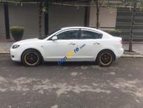Cần bán xe Mazda 3 AT sản xuất 2004, màu trắng, nhập khẩu, giá 255tr