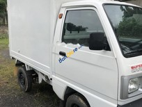 Cần bán xe Suzuki Super Carry Truck 1.0 MT 2015, màu trắng, thùng kín