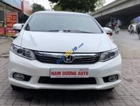 Cần bán lại xe Honda Civic 2.0AT năm sản xuất 2012, màu trắng