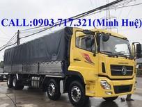 Giá bán xe tải DongFeng YC310 Hoàng Huy nhập, thùng dài 9m5, tải cao 17T99