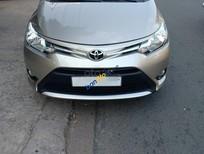 Cần bán lại xe Toyota Vios E năm sản xuất 2017, màu ghi vàng, giá 488tr