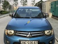 Bán Mitsubishi Triton GLX 4x2 MT sản xuất 2012, màu xanh lam, nhập khẩu chính chủ
