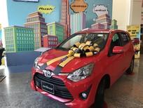 Cần bán Toyota Wigo 1.2 AT sản xuất năm 2019, màu đỏ, nhập khẩu nguyên chiếc, 405tr