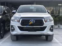Bán Toyota Hilux 2.4 G sản xuất 2019, màu trắng, nhập khẩu, giá tốt