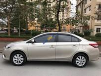 Bán xe Toyota Vios 1.5E MT sản xuất 2017, màu vàng giá cạnh tranh