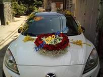 Gia đình bán xe Mazda 3 năm 2010, màu trắng, nhập Đài Loan