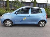 Bán ô tô Kia Morning sản xuất năm 2007, màu xanh lam, nhập khẩu nguyên chiếc xe gia đình
