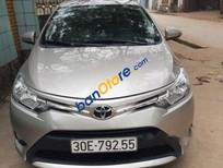 Cần bán Toyota Vios E sản xuất 2017, màu bạc
