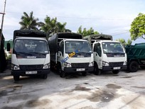 Bán xe tải Isuzu 2.4 tấn sản xuất 2018, màu trắng