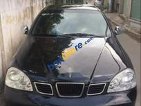 Cần bán xe Chevrolet Lacetti 1.6 MT năm sản xuất 2005, màu đen chính chủ