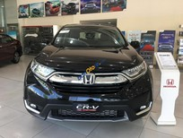 Bán ô tô Honda CR V L sản xuất năm 2019, màu đen, xe nhập