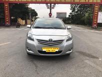 Cần bán xe Toyota Vios 1.5 E 2013, màu bạc, 395 triệu