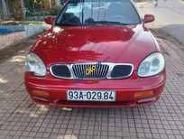 Bán Daewoo Leganza sản xuất 2002, màu đỏ, xe nhập ít sử dụng