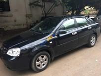 Bán xe cũ Daewoo Lacetti sản xuất 2008, màu đen