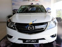 Bán xe Mazda BT 50 2.2 MT 4x4 2019, màu trắng, nhập khẩu