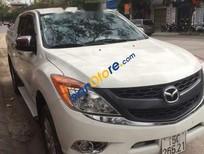 Cần bán lại xe cũ Mazda BT 50 sản xuất 2015, màu trắng