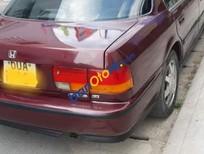 Cần bán xe Honda Accord sản xuất năm 1990, màu đỏ, 78tr