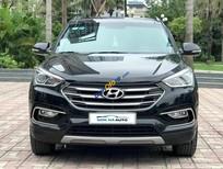 Cần bán gấp Hyundai Santa Fe 2.2L 4WD sản xuất năm 2016, màu đen chính chủ