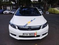 Xe Honda Civic 1.8 AT năm sản xuất 2012, màu trắng số tự động