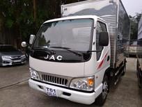 Bán xe tải Jac 2T4 thùng dài 4m3 - xe tải Jac 2T4 L250, máy Isuzu