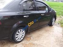 Cần bán lại xe Daewoo Gentra MT sản xuất năm 2008, màu đen chính chủ