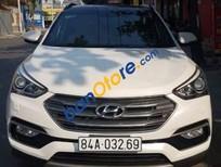 Bán Hyundai Santa Fe AT năm 2017, màu trắng. Hỗ trợ bank 75%