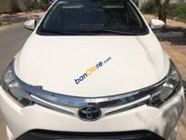 Cần bán lại xe Toyota Vios 1.5E MT năm 2017, màu trắng, không gian cabin xe có tính riêng tư