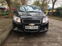 Bán xe Chevrolet Aveo LTZ 1.4 AT 2018, màu đen