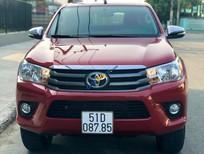Bán Toyota Hilux E sản xuất năm 2016, màu đỏ, nhập khẩu