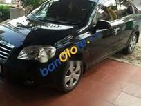 Cần bán lại xe Daewoo Gentra năm 2009, màu đen, giá 180tr