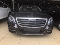 Mercedes S600 Maybach sản xuất 2015, đăng ký 2017, màu đen, lăn bánh 6000 km, xe như mới, biển Hà Nội