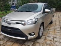 Bán Toyota Vios E 2017, màu vàng cát