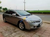 Cần bán gấp Honda Civic năm 2008, màu bạc như mới, giá tốt