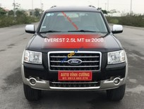 Chính chủ bán Ford Everest 2.5L 4x2 MT sản xuất 2008, màu đen