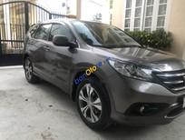 Cần bán Honda CR V 2.4 năm 2013, màu xám số tự động, 750 triệu