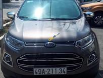 Cần bán xe Ford EcoSport Titanium 1.5L năm 2016, màu xám ít sử dụng