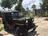 Cần bán gấp Jeep A2 Willys cj3b sản xuất 1980, màu xanh lam, nhập khẩu chính hãng