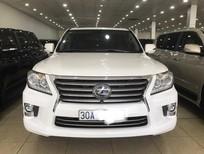 Bán Lexus LX570 nhập Mỹ, màu trắng, sản xuất 2013, đăng ký 2014, tư nhân, chính chủ, biển Hà Nội. LH: 0906223838