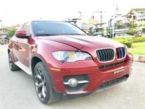 Bán BMW X6 năm sản xuất 2009, màu đỏ, nhập khẩu