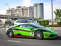 Bán Lamborghini Huracan 610LP đời 2014, màu xanh lục, xe nhập
