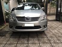 Cần bán lại xe Toyota Innova MT ĐK 2014, màu bạc