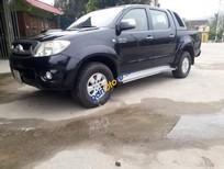 Xe Toyota Hilux 3.0G năm sản xuất 2009, màu đen số sàn