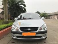 Bán Hyundai Getz 1.1 MT sản xuất năm 2009, màu bạc, xe nhập chính chủ, giá chỉ 230 triệu